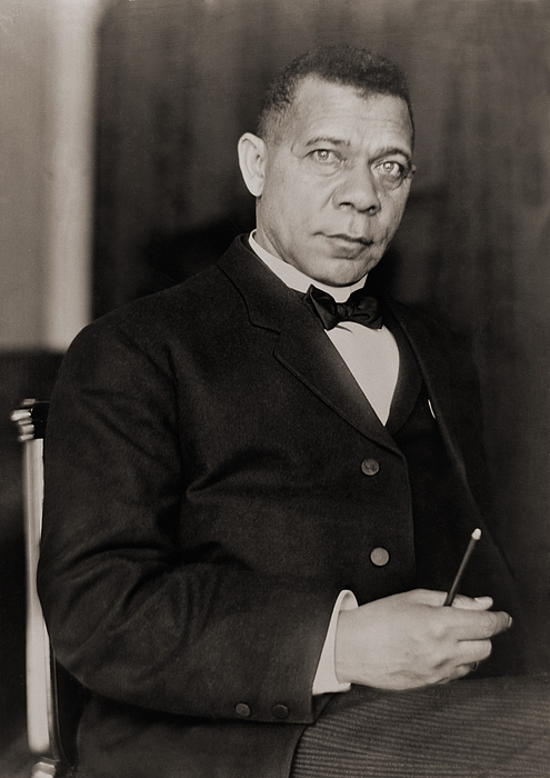 History Photograph - Booker T. Washington 1856-1915, Became by Everett