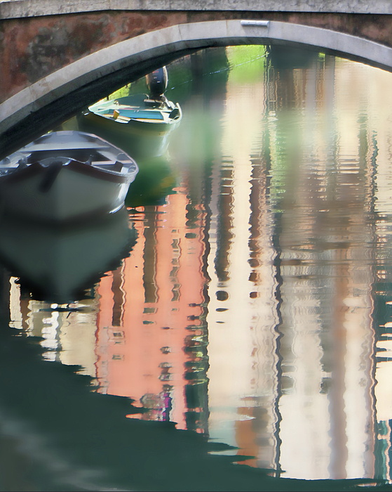 Canal Reflection San Barnaba Photograph