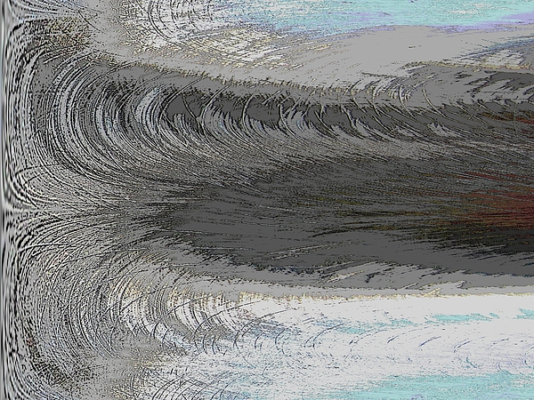 Abstract Digital Art - Catch The Wave by Tim Allen