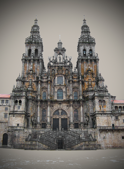 Cathedral Photograph - Cathedral Of Santiago De Compostela by Jasna Buncic