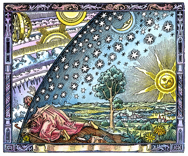 Celestial Mechanics, Medieval Artwork Photograph