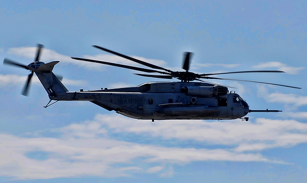 Ch-53d Sea Stallion Photograph - Ch-53d Sea Stallion - 2 by Tommy Anderson