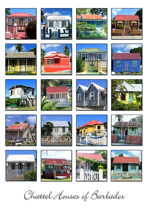 Barbados Photograph - Chattel Houses Of Barbados by Barbara Marcus