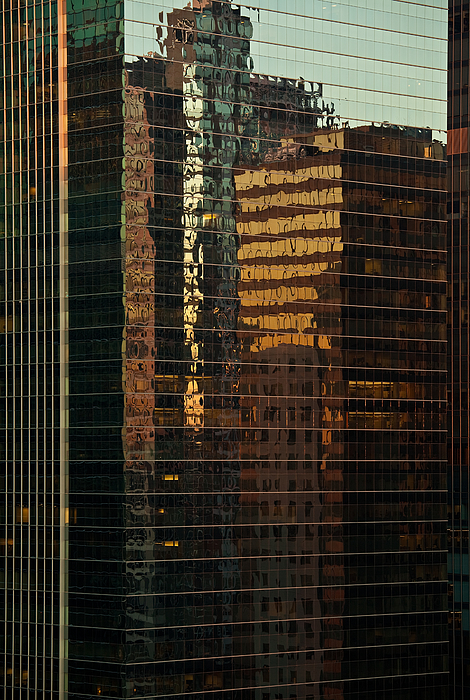 Chicago Reflected Photograph