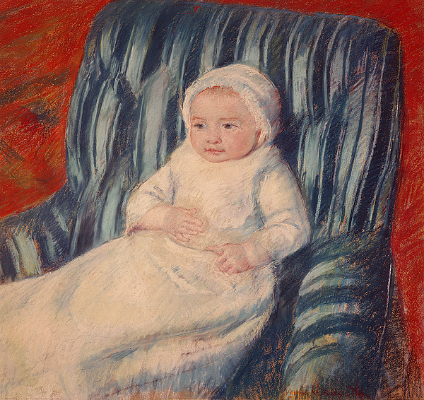 Child On A Sofa Painting