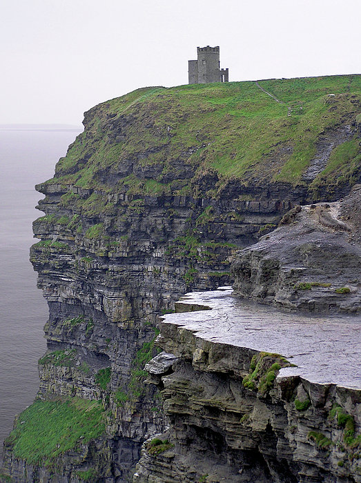 Cliffs Of Moher Ireland Print by Charles Harden