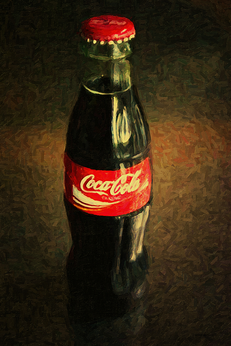 Coke Bottle Photograph - Coke Bottle by Wingsdomain Art and Photography