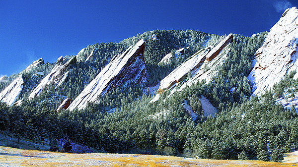 Colorado Flatirons Photograph