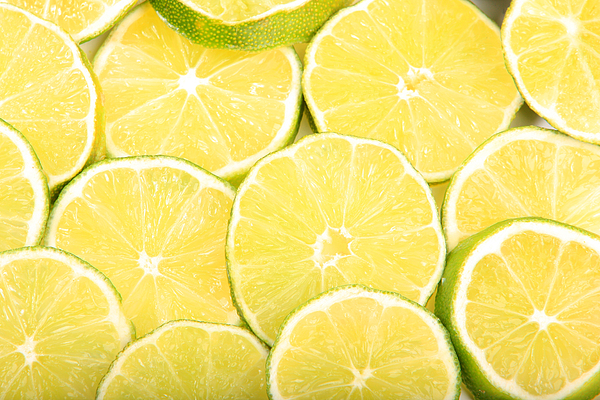 Colorful Limes Photograph