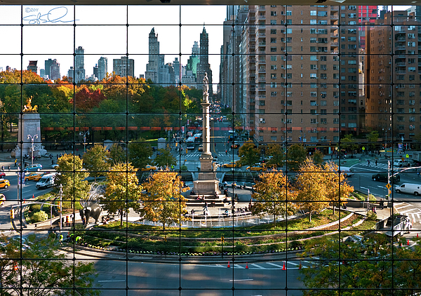 Nyc Photograph - Columbus Circle by S Paul Sahm