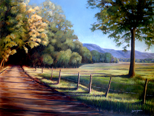 Landscape Painting - Coming Home by Susan Jenkins