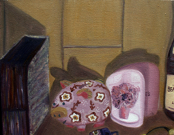 Still Life Painting - Complementary Still Life by Hannah Curran