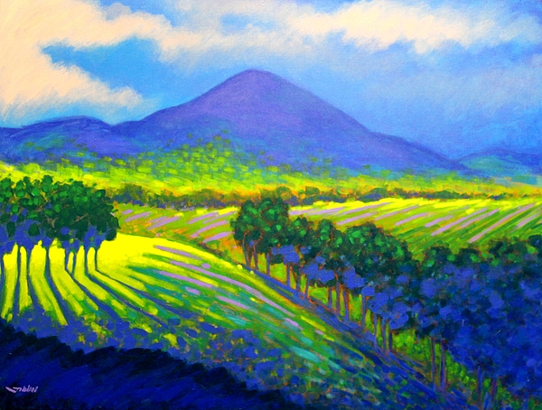 Croagh Patrick County Mayo Painting