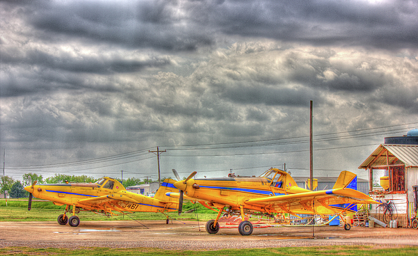 Crop Duster Photograph - Crop Duster 003 by Barry Jones