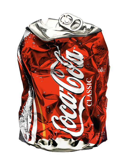 Coca Cola Photograph - Crushed by Michael Kraus