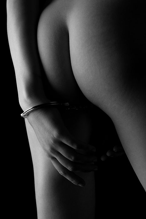 Artistic Photograph - Cuffed To The Rear by Stuart Thomson