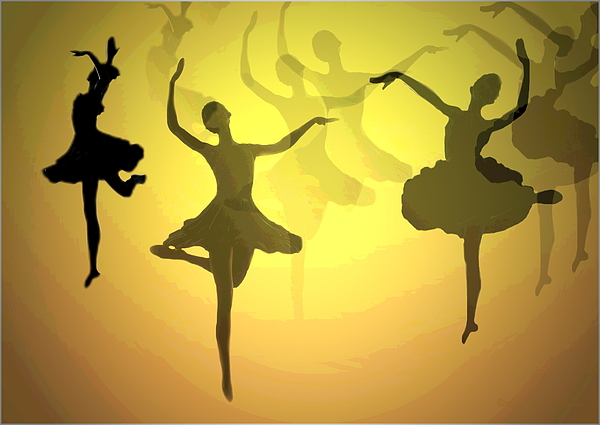 Ballerina Photograph - Dance With Us Into The Light by Joyce Dickens