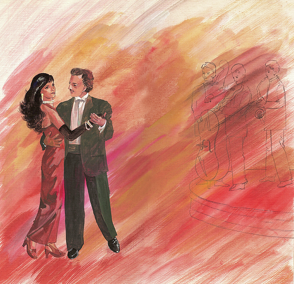 Couple Dancing Painting - Dancing Couple by Sharmila L
