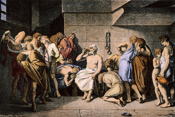 4th Century B.c Photograph - Death Of Socrates by Granger