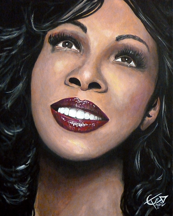 Donna Summer Painting