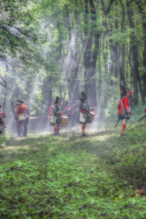 War Photograph - Drums In The Forest Before The Battle by Randy Steele