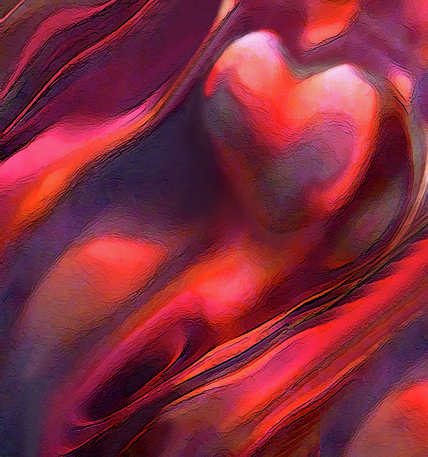 Abstract Photograph - Dry Canyons Of The Heart by Terril Heilman