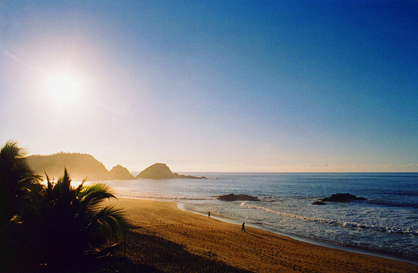 Landscape Photograph - Early Morning In Zipolite 2 by Lyle Crump