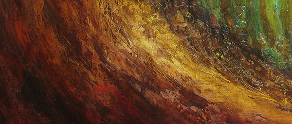Earth Mixed Media - Earth A by Pure Abstract