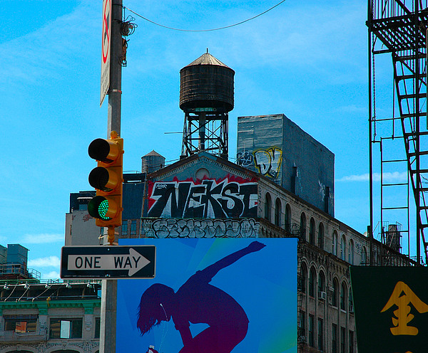 New York City Photograph - East Meets West Nyc by Alexander Aristotle