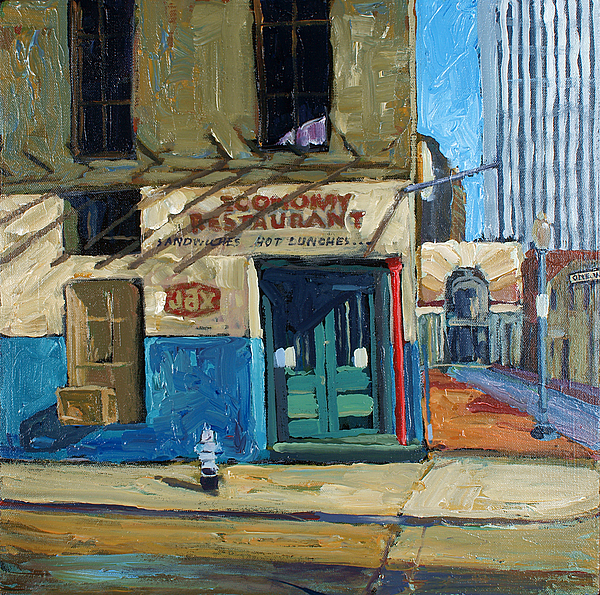 Economy Restaurant Painting by Dale Knaak
