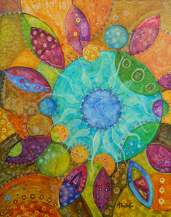 Contemporary Painting - Effervescent by Tanielle Childers