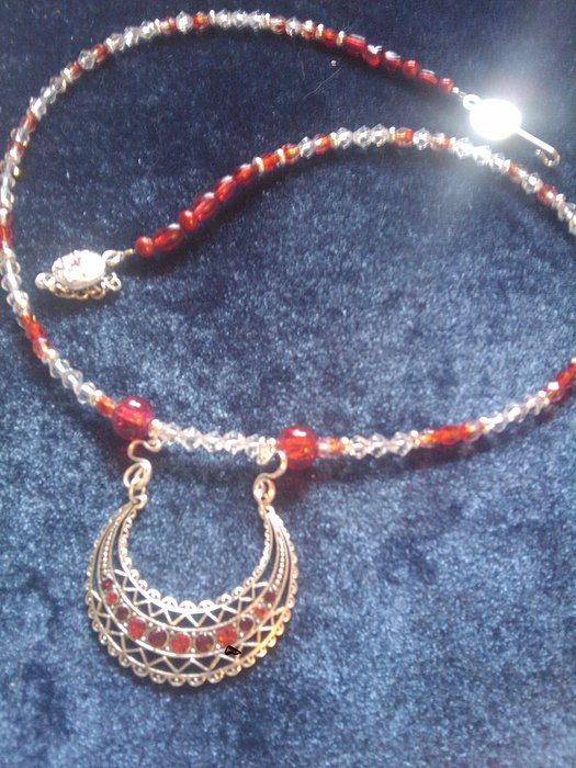 Unique Necklace Photograph - Egyptian Breastplate by Melanie A Leon