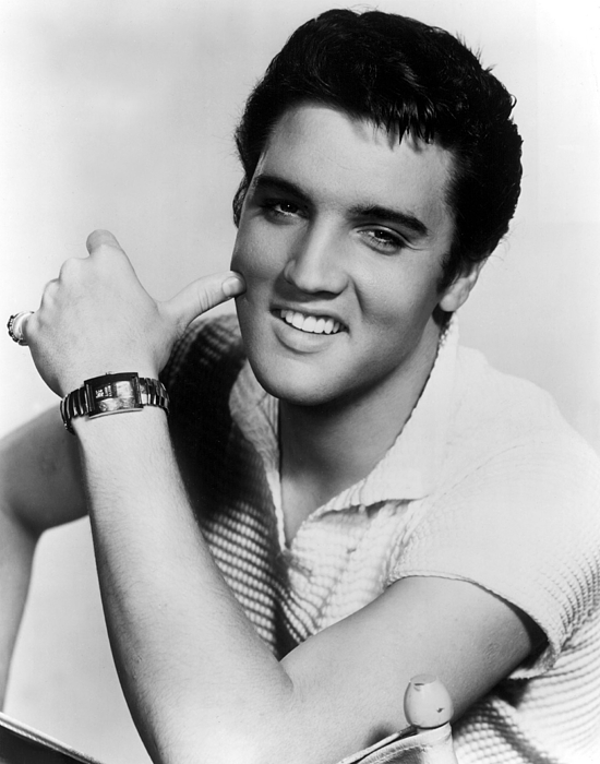 1950s Portraits Photograph - Elvis Presley, Ca. 1950s by Everett