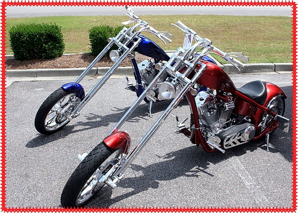 Exotic Motorcycles 2 Photograph