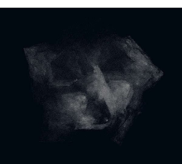 Face In Dark Mood Digital Art
