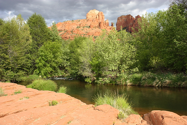 Cathedral Rock Photograph - Feng Shui In Sedona by Carol Groenen