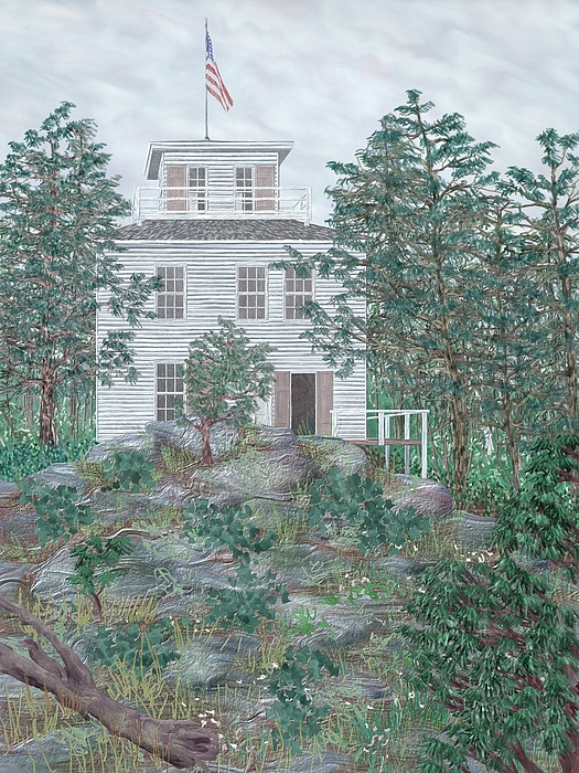 Smith House Piante : First prospect mountain house painting by jamison smith