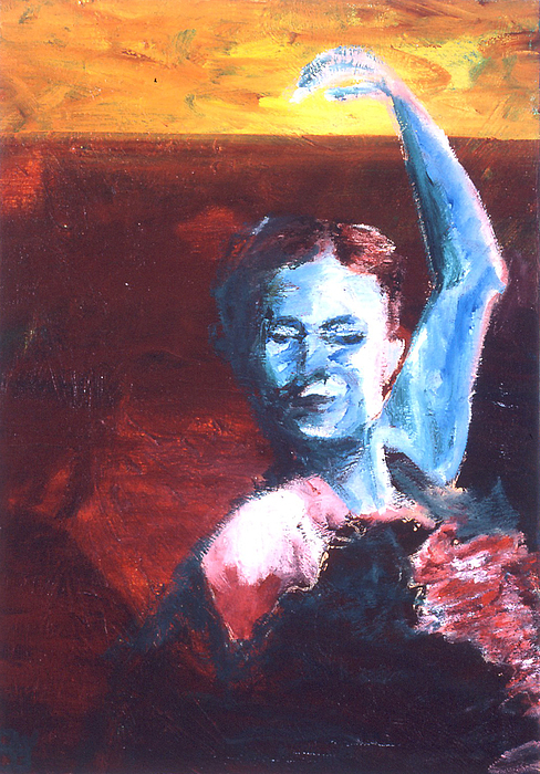 Flamenco Seco Painting