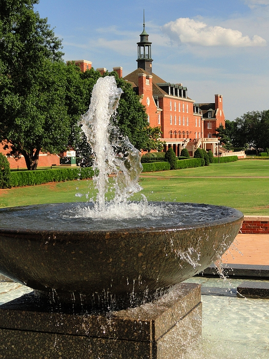 Fountain And Union Photograph