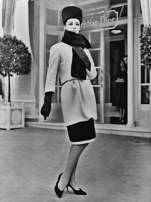 History Photograph - French Designer, Christian Dior by Everett