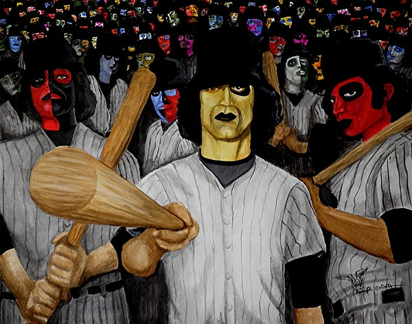 Furies Up To Bat Painting
