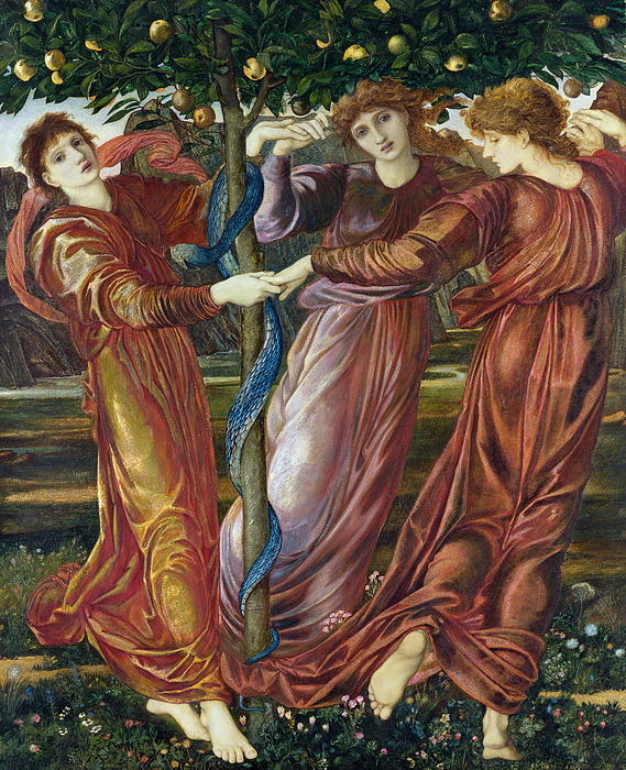 Garden Of The Hesperides Painting