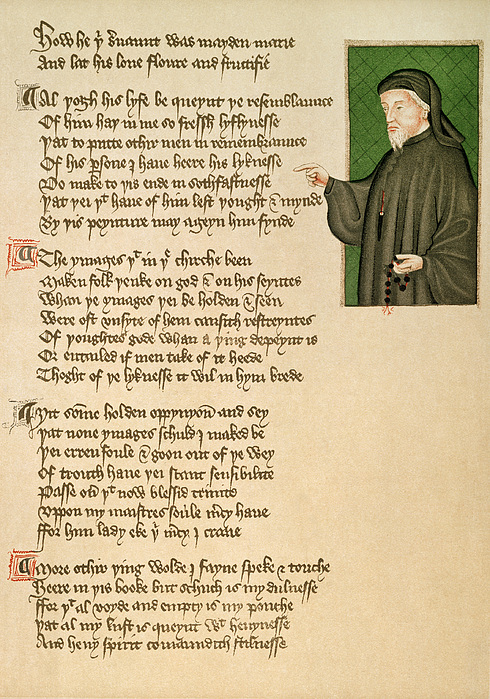 the 14th century from chaucers perspective Literature during chaucer's period  by geoffrey chaucer at the end of the 14th century  through a multi-perspective prism of subjectivity make.
