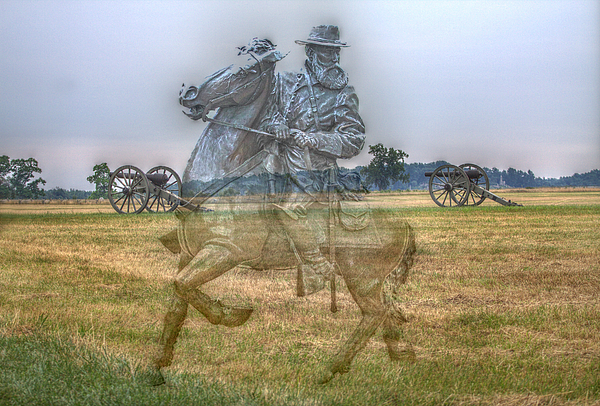Ghost Of Gettysburg Digital Art