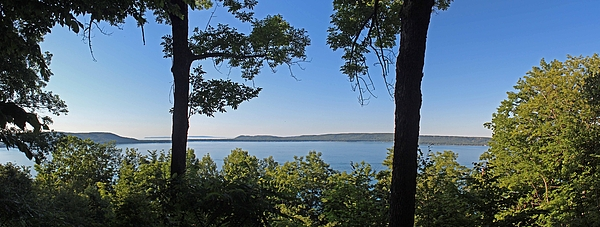 Glen Lake From Inspiration Point Photograph