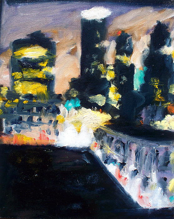 Des Moines Painting - Gotham by Robert Reeves