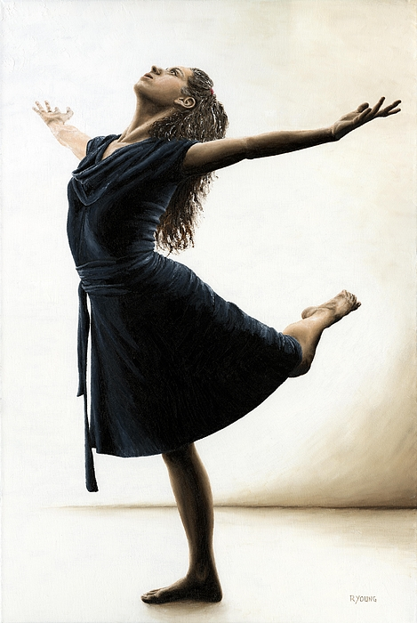 Dancer Painting - Graceful Enlightenment by Richard Young