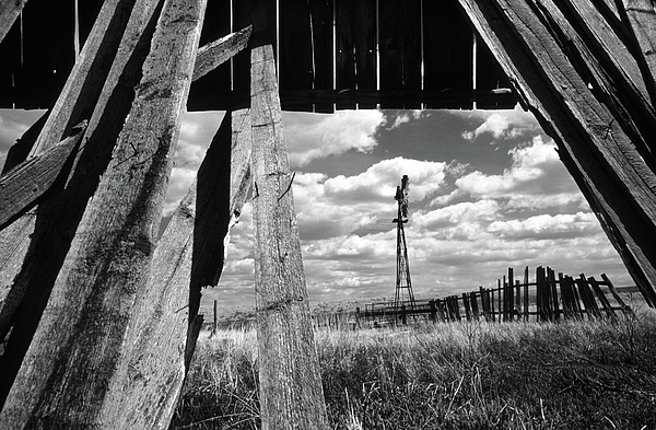 Alberta Photograph - Homestead by Bob Christopher