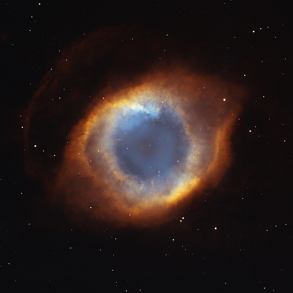 Outer Space Photograph - Hubble Telescope Image Of The Helix by Nasa