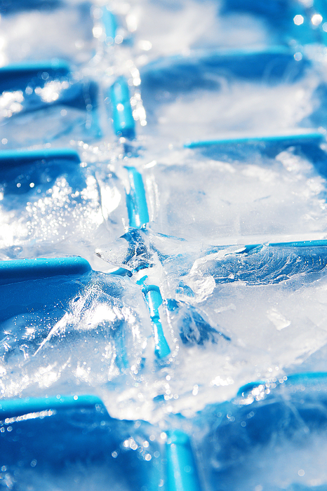 Ice Cubes Photograph